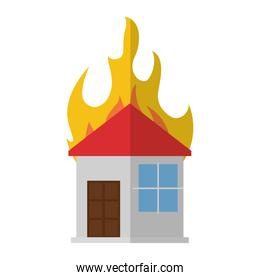 house fire flame icon