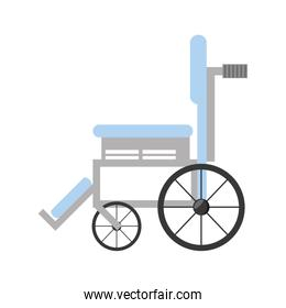 wheelchair medical equipment icon