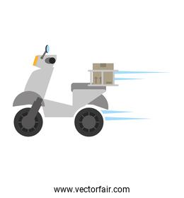 delivery motorcycle box fast