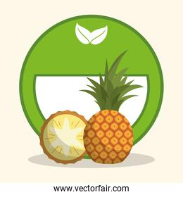 pineapple organic food diet
