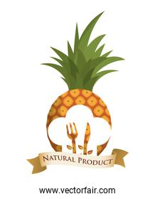 pineapple diet food natural product