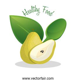 pear healthy food diet design
