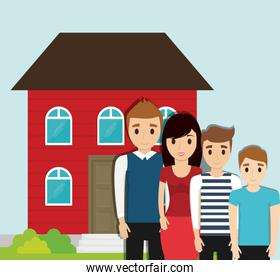 family home together image