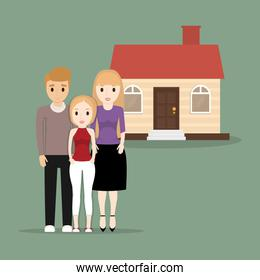 family people home image
