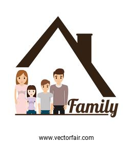 family house poster
