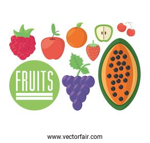 fruits food nutrition diet healthy