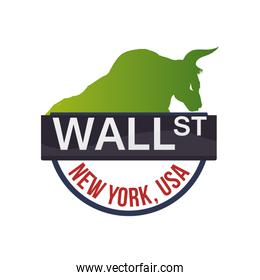 wall street new york bull