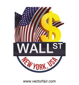 wall street new york exchange money business