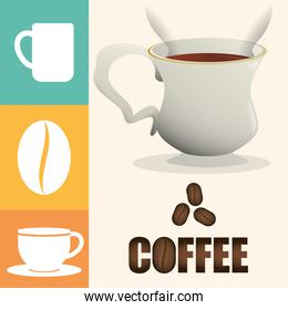 coffee cup poster cup beverage