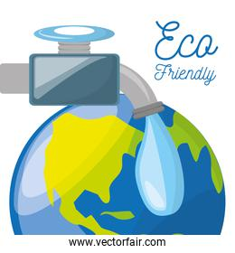 save water for the planet conservation
