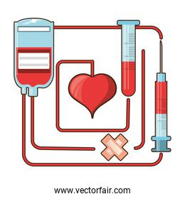 blood donation and transfusion tools