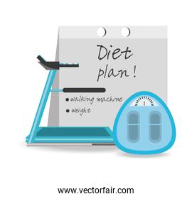 healthy listyle to diet plan
