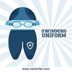 swimming pool sport game to competition