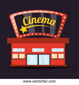 cinema with watch movie entertainment