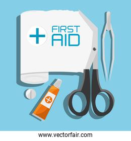 medical first aid tools treatment
