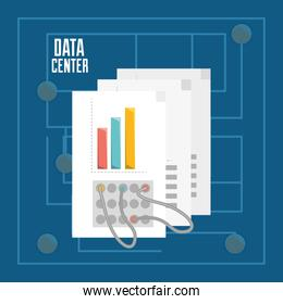documents and connecting information data center