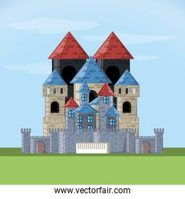 Castle with tower design