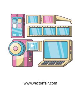 technology devices and multimedia gadget