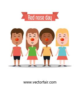 Red nose day design