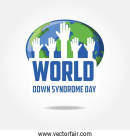 Down syndrome day design