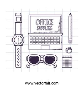 Office supplies design