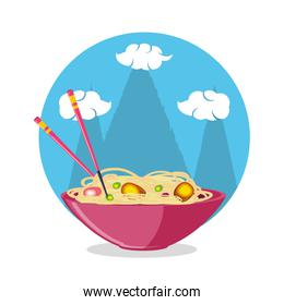 delicious chinese rice icon