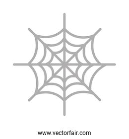 happy halloween spiderweb icon
