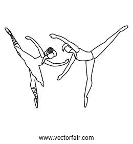 ballet dancer design