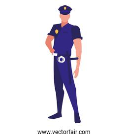 avatar policeman icon