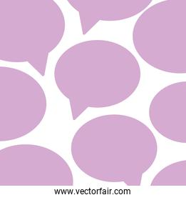 speech bubbles design