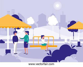 People and park design