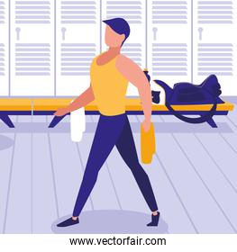 people and gym design
