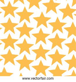 Isolated star background