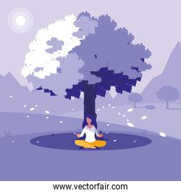 Yoga and meditation design