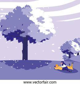 Relaxed couple design