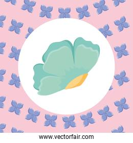 tropical flower icon