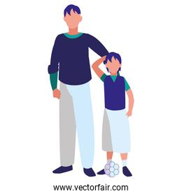 father and son design
