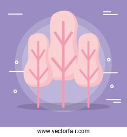 Abstract trees design