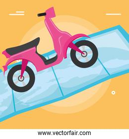 Motorcycle icon image