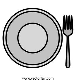 plate and fork design