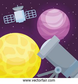 Space telescope design