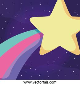 shooting star design