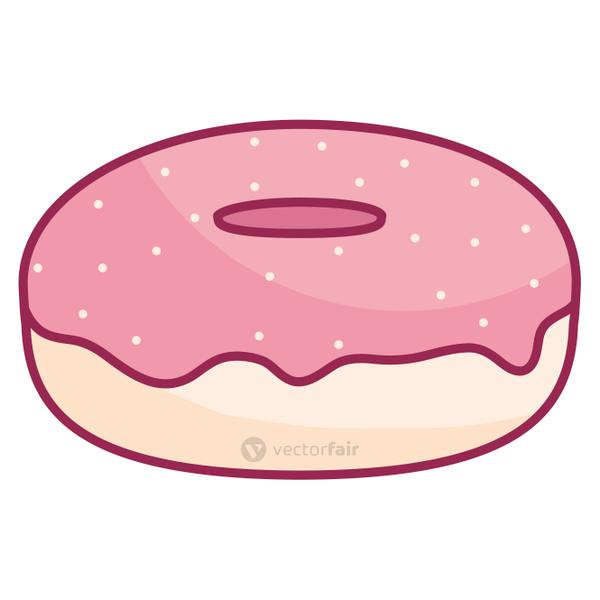 sweet donuts isolated icon