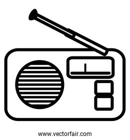 radio fm device icon