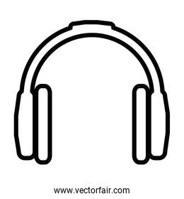 headset device isolated icon
