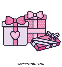 love gifts boxes presents