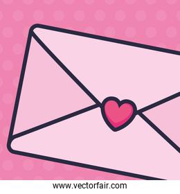 envelope with heart icon