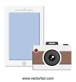 camera photographic with smartphone