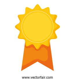 medal stamp award icon
