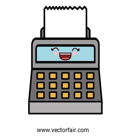 kawaii cash register icon
